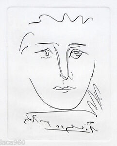 Pablo-PICASSO-Pour-Roby-Plate-Signed-Etching-COA
