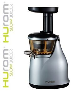 Hurom HU-300 MKII Slow / Cold Press Juicer - Silver