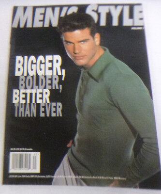 Men's Style Magazine Bigger & Bolder & Better Fall 1996