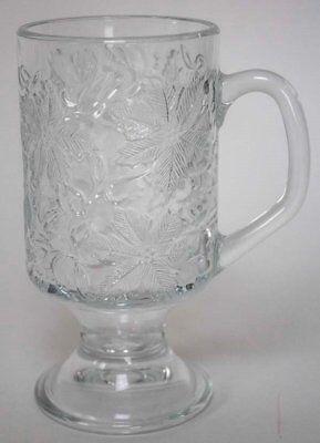 (Princess House Fantasia Footed Hot Beverage Mug Crystal 5 1/2