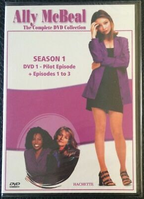 ALLY McBEAL Season 1 Pilot Episode + Episodes 1-3 - NEW AND...