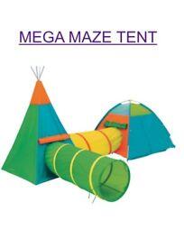Mega maze tent brand new