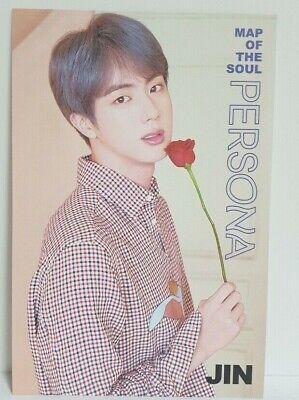 KPOP BTS Bangtan Boys JIN Post Card Made In Korea Special Photo Card No.5