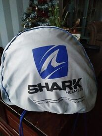 "Shark ""FLAME DESIGN FULL FACE HELMET ""SIZE: Large £20 !!!!!!"