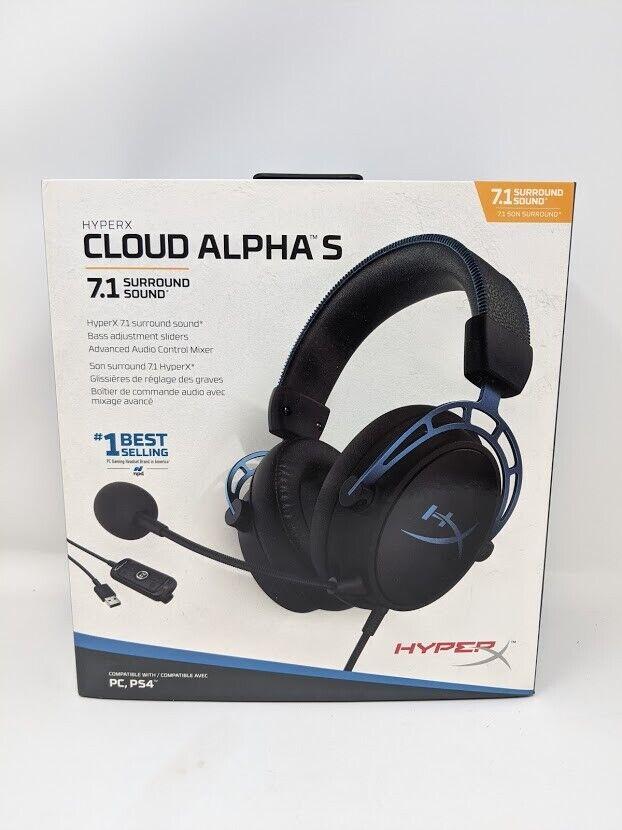 HyperX Cloud Alpha S - PC Gaming Headset, 7.1 Surround Sound