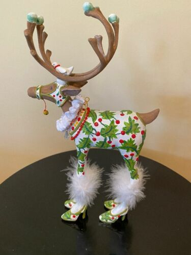 Mackenzie-Childs Patience Brewster Krinkles Dashaway Vixen Reindeer Figure- Used