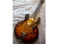 Epiphone by Gibson ES335 Dot with Bigsby Electric Guitar - CAN DELIVER