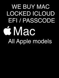 ££ I buy £ MacBook / pro / air / iMac / password / locked / pin / Icloud