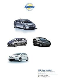 PCO Car Rent or Hire from £100 and (cars for Uber bailable)