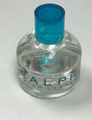 RALPH LAUREN ~ RALPH FOR WOMEN EAU DE TOILETTE SPLASH ~ 0.25 OZ MINI BOXLESS