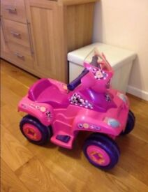 Minnie Mouse 6v electric ride on