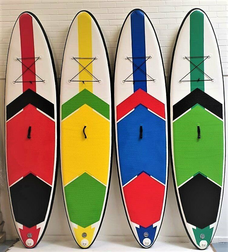 209fc82a82e6 STAND UP, INFLATABLE PADDLE BOARD, SUP, SURF BOARD, PUMP 3RD FIN LEASH BAG  PUMP