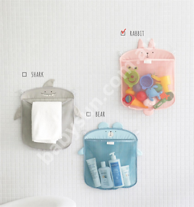 Baby Bath Toy Organiser Bag Net Mesh Storage Cute Shark Rabbit Kellyville The Hills District Preview
