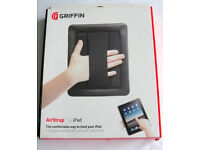 iPad holder (case) allows for 1 hand operation for presentations, teaching, site surveys etc