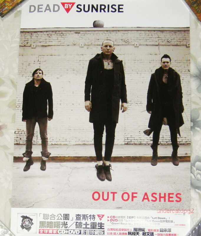 Linkin Park Dead By Sunrise Out of Ashes Taiwan Promo Poster(Chester Bennington)