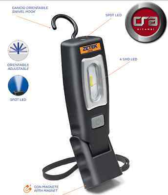 ZETEK by ZECA - KB150 - LAMPADA A LED RICARICABILE TORCIA