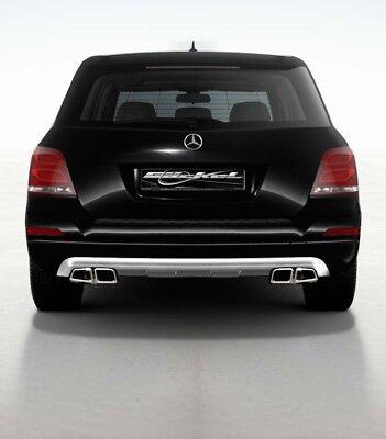 Mercedes GLK X204 AMG 63 Heckblenden Diffusor Sportendrohr Design System 3