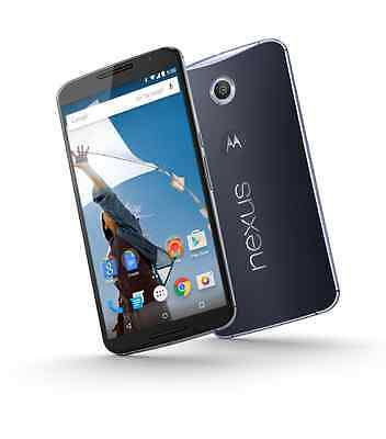 Motorola Google Nexus 6 AT&T XT1103 Unlocked 32GB Smartphone Midnight Blue