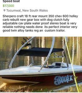 Speed Boat Tocumwal Berrigan Area Preview
