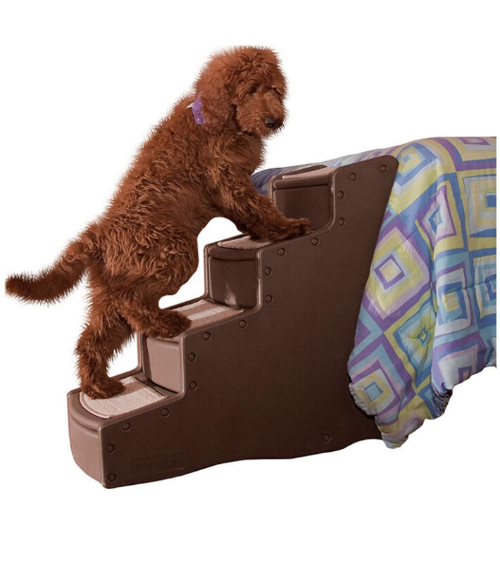 Pet Gear Easy Step IV Pet Stairs, 4-Step for Cats/Dogs, Portable/Lightweight,