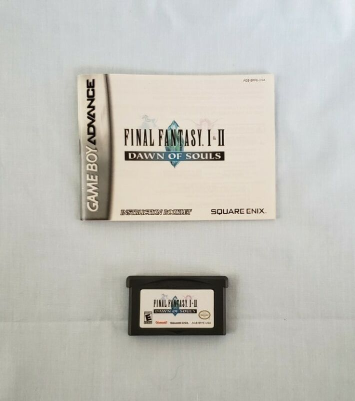 Final Fantasy V 5 Advance Nintendo GBA Cart and Manual TESTED Authentic