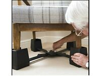 CHAIR RAISING KIT RAISE HEIGHT of standard sofa armchair disability elderly