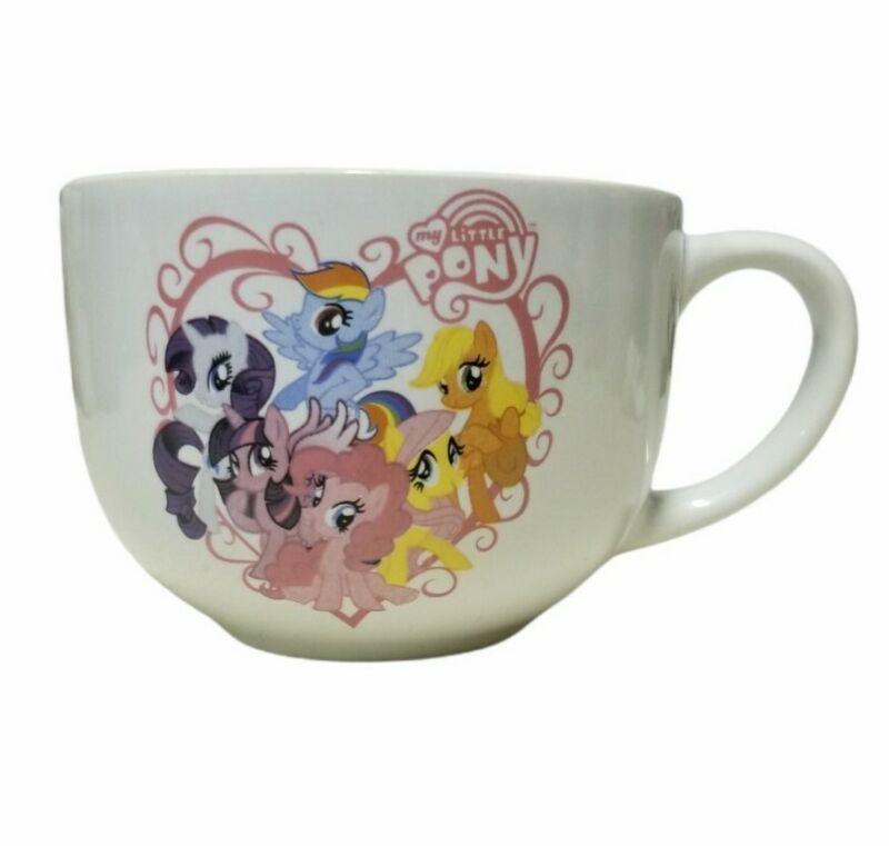 2018 Hasbro My Little Pony Coffee Mug Cup Tea Twilight Sparkle Rainbow Dash 16oz