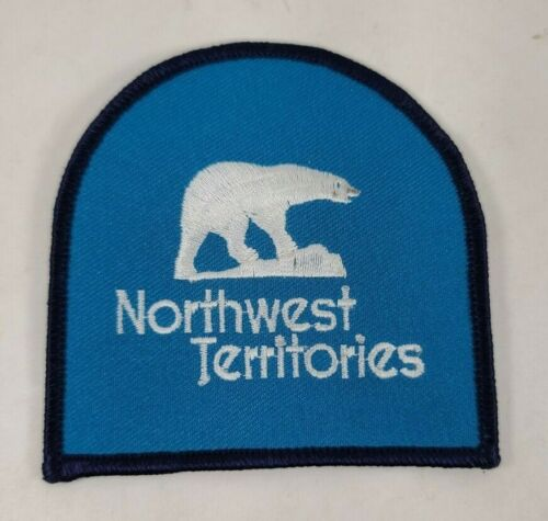 """Northwest Territories Canada Polar Bear Embroidered Patch NEW 3 1/4"""""""