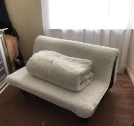 Very comfy sofa bed, free delivery to your home (roadside drop off)