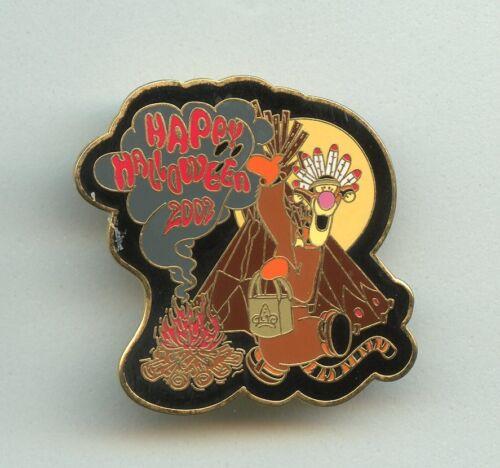 Walt Disney World Pooh Halloween as American Indian Tigger w/ Tepee LE Pin