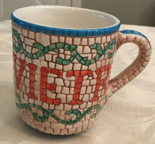 Vietri Mosaic Blue 1983 - 2013 Mug