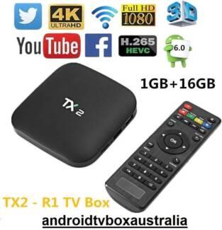1/16GB TX2-R1 Android Kodi media TV box RK3229 4K BT WiFi netflix