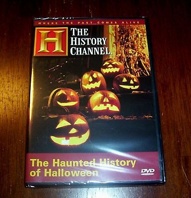 HAUNTED HALLOWEEN Haunts Hauntings October Holiday Ghost History Channel DVD NEW - History Channel Haunted History Halloween Dvd
