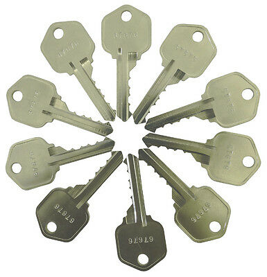 Kwikset Rekey 10 Master Keys 5 Pin Locks Rekeying Pins Locksmith Key Kits