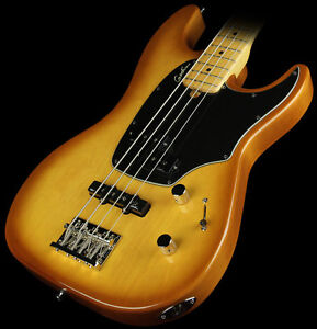 Godin Shifter Classic 4 Electric Bass Guitar Creme Brulee