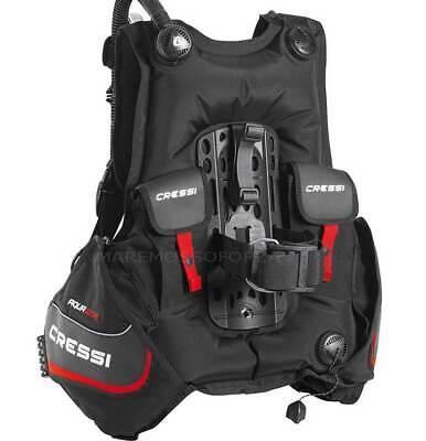 как выглядит Gav CRESSI SUB Aquaride Jacket With Pockets Port Weights Dive Bcd Vest фото