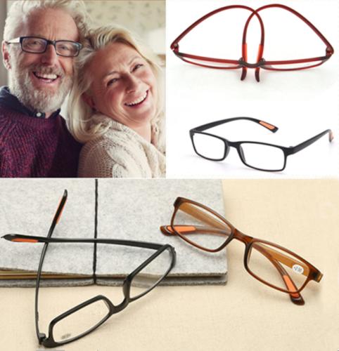 Unisex TR90 Flexible Reading Glasses Strength Presbyopic Glasses +1.00~+4.00