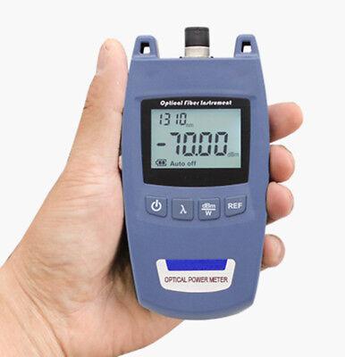 Mini Tl520 Ftth Fiber Optical Power Meter -70 10dbm Cable Tester Fc 2.5mm