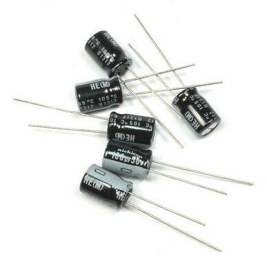 12pcs Nichicon He 100uf 50v 105c Radial Electrolytic Capacitor Uhe1h101mpd