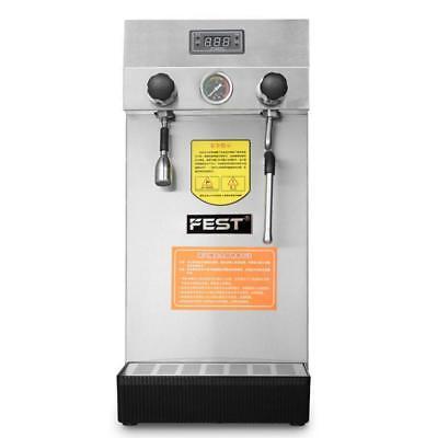 Professional Espresso Coffee Milk Foam Steam Water Boiling Machine 220v Ts