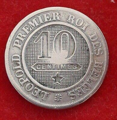 10 Centimes cents 1861 Belgique Belgïe Leopold I (RC1)