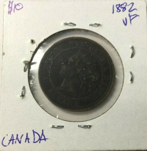 1882 CANADA ONE CENT COIN