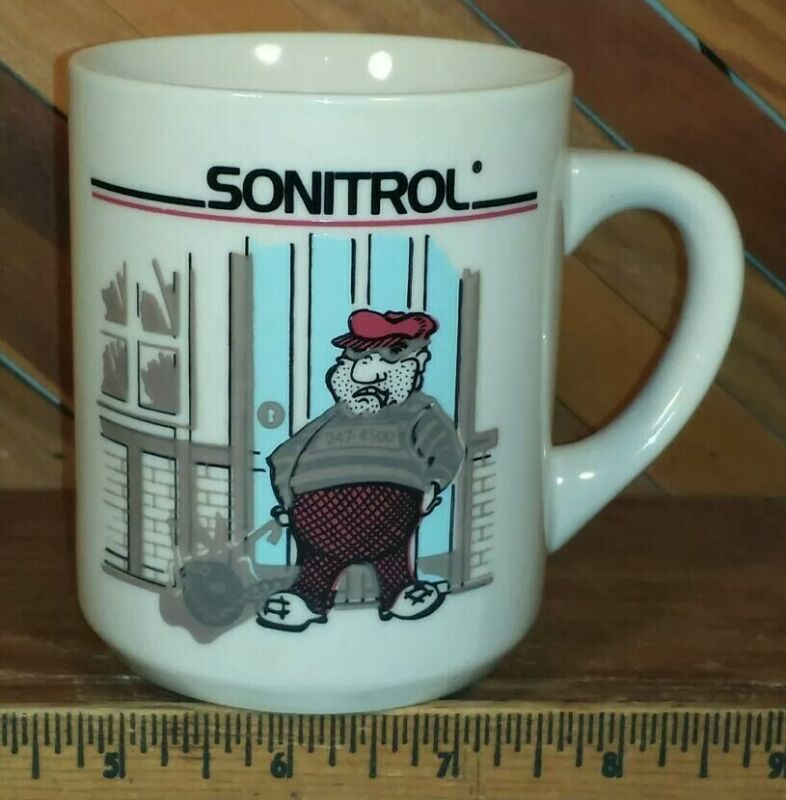SONITROL Security Alarm System - Promotional Heat Activated Coffee Mug Cup