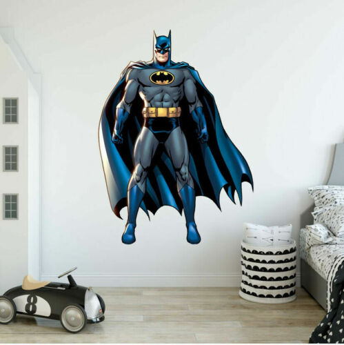 Home Decoration - Batman Cartoon Wall Sticker Kid Gift Nursery Decal Boys Home Decor Art Mural DIY