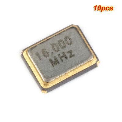 10pcs 3225 Smd 16mhz 12pf Passive Quartz Resonator Crystal Oscillator
