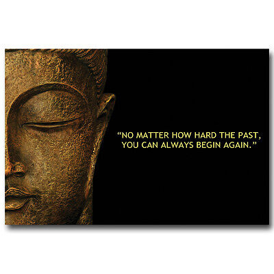 Buddha Motivational Quotes Art Silk Poster Print 12X18 24X36inch 05