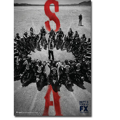 Art Sons Of Anarchy Tv Series Print Fabric Poster 1248