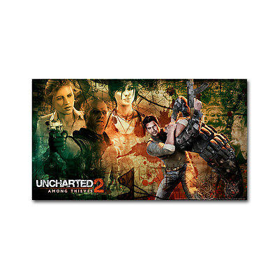 - Uncharted 2 Game Art Silk Cloth Poster 13x24 24x43 inches Decor 10