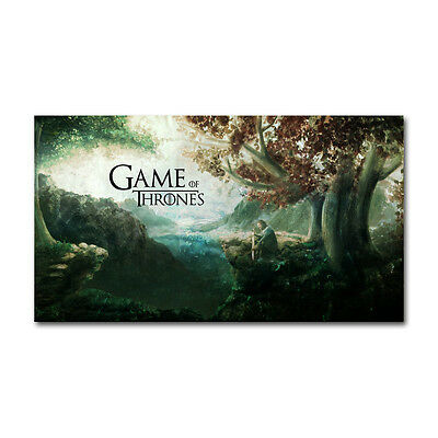 - Game of Thrones 1 2 3 seven kingdoms map Silk Cloth Poster 13x24 24x43 Decor 001