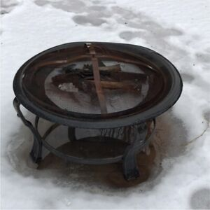 Fire pit for backyard, deck or patio